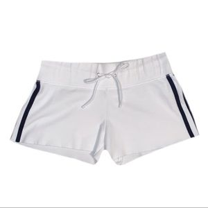 No Boundaries Juniors White Shorts